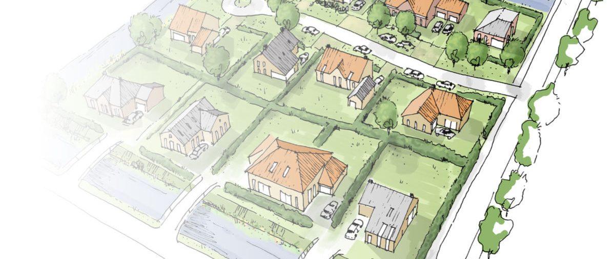 Gasloze nieuwbouwwijk Winsum